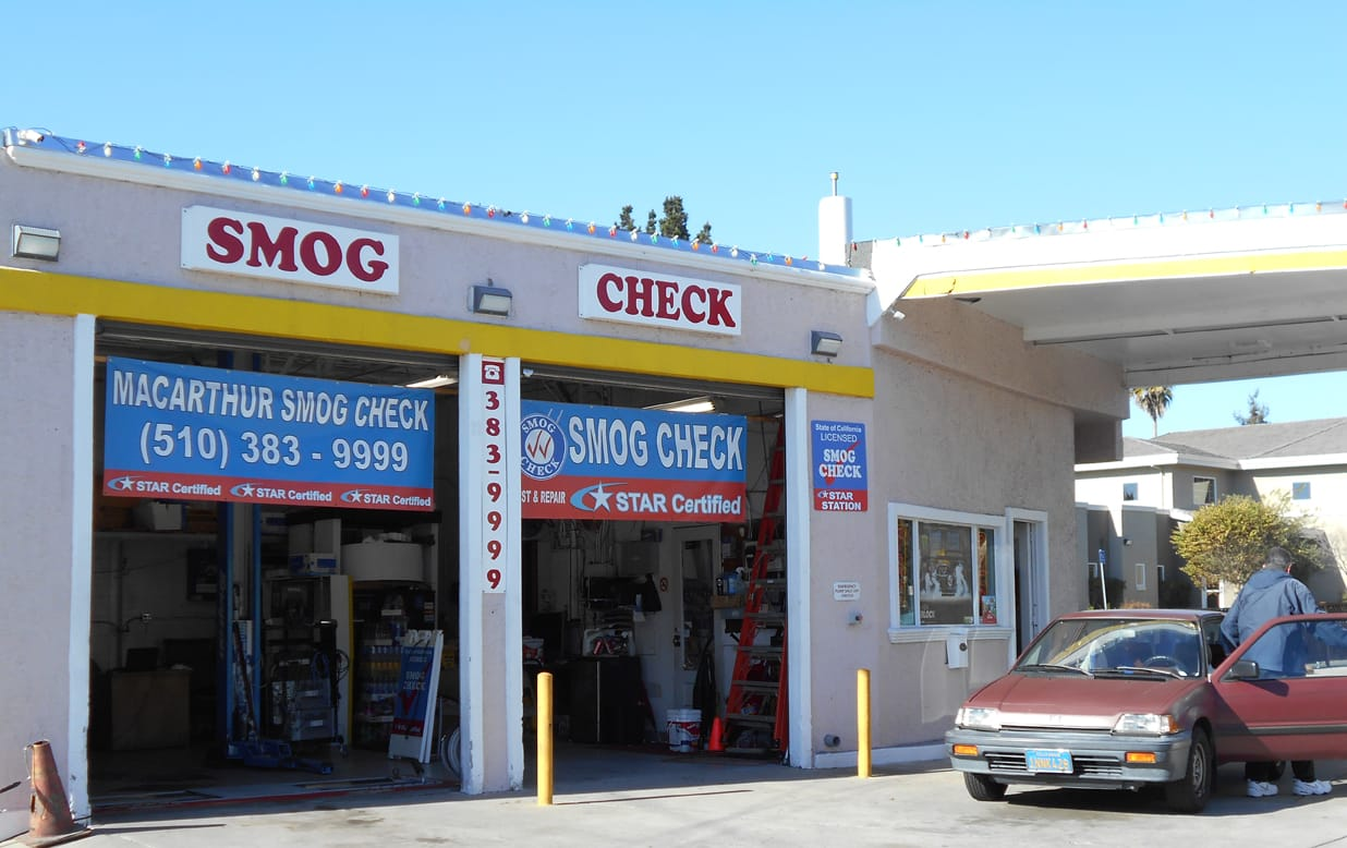 cheap smog check stuation near me